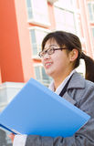 Chinese white collar Stock Photo