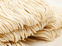 Chinese white noodle. Close up Royalty Free Stock Images