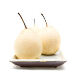 Chinese White Pear Royalty Free Stock Photo