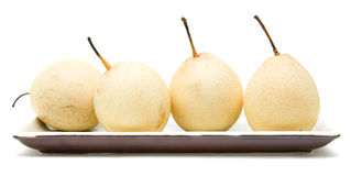 Chinese White Pear Stock Images