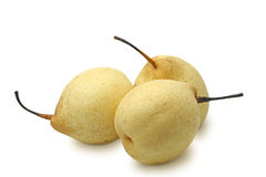 Chinese white pears Stock Photo