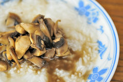 Chinese White Porridge Royalty Free Stock Images