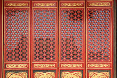 Chinese window and door Royalty Free Stock Photography