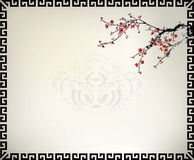 Chinese window frame Stock Photography