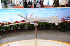 Chinese Wing Long UAV model Stock Images