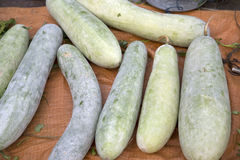 Chinese winter melon selling Royalty Free Stock Image