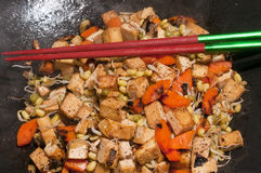 Chinese wok Stock Photo