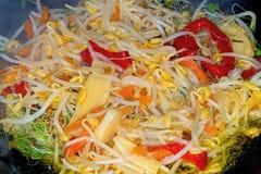 Chinese wok Stock Image