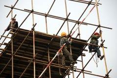Chinese builder Stock Photo
