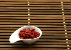 Chinese wolfberry Royalty Free Stock Image