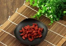 Chinese wolfberry Stock Image