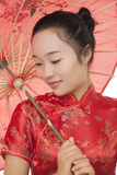 Chinese Woman Stock Photo