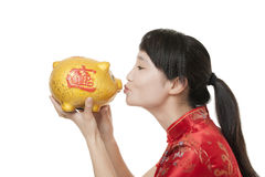 Chinese Woman Royalty Free Stock Photo