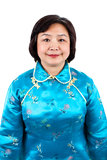 Chinese Woman portrait, close up Stock Image