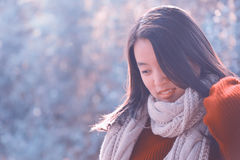 Chinese woman portrait Stock Photos