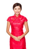 Chinese woman portrait Stock Images
