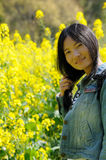 Chinese woman smiling Royalty Free Stock Images