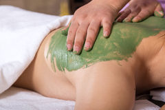 Chinese woman spa Royalty Free Stock Photos
