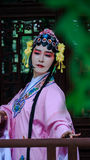 Chinese Woman Wearing Traditional Clothing Stock Images