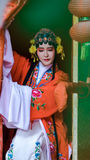 Chinese Woman Wearing Traditional Clothing Royalty Free Stock Photos