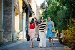 Chinese women Royalty Free Stock Photos