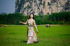 Chinese women Royalty Free Stock Images