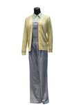 Chinese women's clothing Stock Images