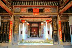 Free Chinese Woodcarving And Decoration Of Nanshe Villages Royalty Free Stock Photos - 126201218