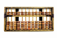 Chinese wooden abacus Stock Images