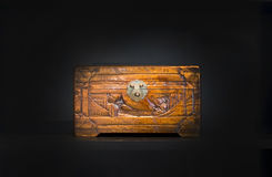 Chinese wooden box Royalty Free Stock Photography