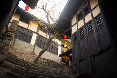Chinese Wooden Buildings Royalty Free Stock Photos