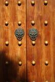 Chinese wooden door Stock Photos