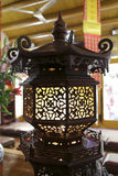 Chinese wooden palace lantern Stock Photo