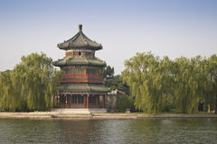 Free Chinese Wooden Tower Royalty Free Stock Photos - 19371188