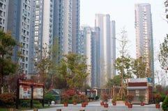 Chinese Woongemeenschap Stock Afbeelding