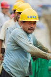 Chinese workers Royalty Free Stock Image