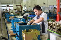 Chinese workers Stock Image