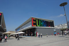 Chinese World Expo Shanghai 2010 European Union Pavilion Royalty Free Stock Photo