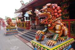 Chinese worship Royalty Free Stock Image