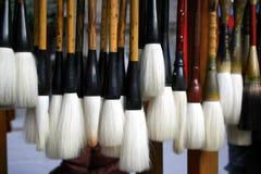Chinese writing brush Stock Images
