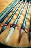Chinese writing brush Royalty Free Stock Image