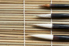 Chinese writing brush Royalty Free Stock Photos