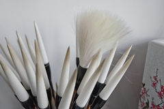 Chinese writing brush Royalty Free Stock Photo