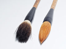 Chinese writing brushes Stock Photos