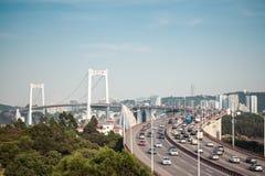 Chinese xiamen haicang bridge Stock Photos