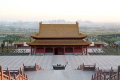 Chinese Xiangshan Temple Royalty Free Stock Photography