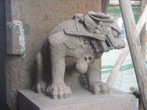 Chinese Xingcheng ancient city-Carving. Xingcheng ancient city China, located in Jiaxing City in Liaoning province Chinese. Xingcheng ancient city is one of Royalty Free Stock Photo