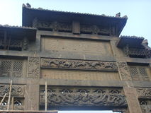 Chinese Xingcheng ancient city-Memorial Gateway Stock Images
