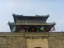Chinese Xingcheng ancient city-wall Stock Photos