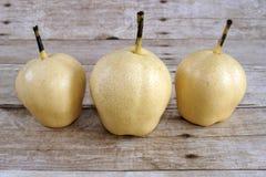 Chinese Ya Pears Stock Photography